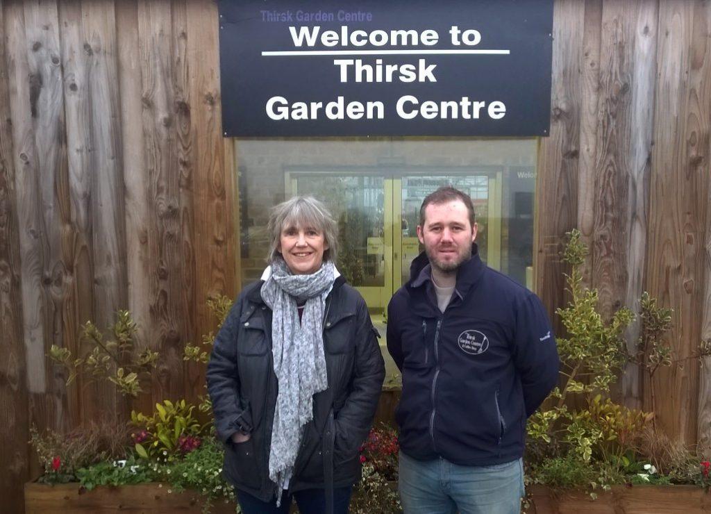 Thirsk Garden Centre, Helen and Joe Joyce