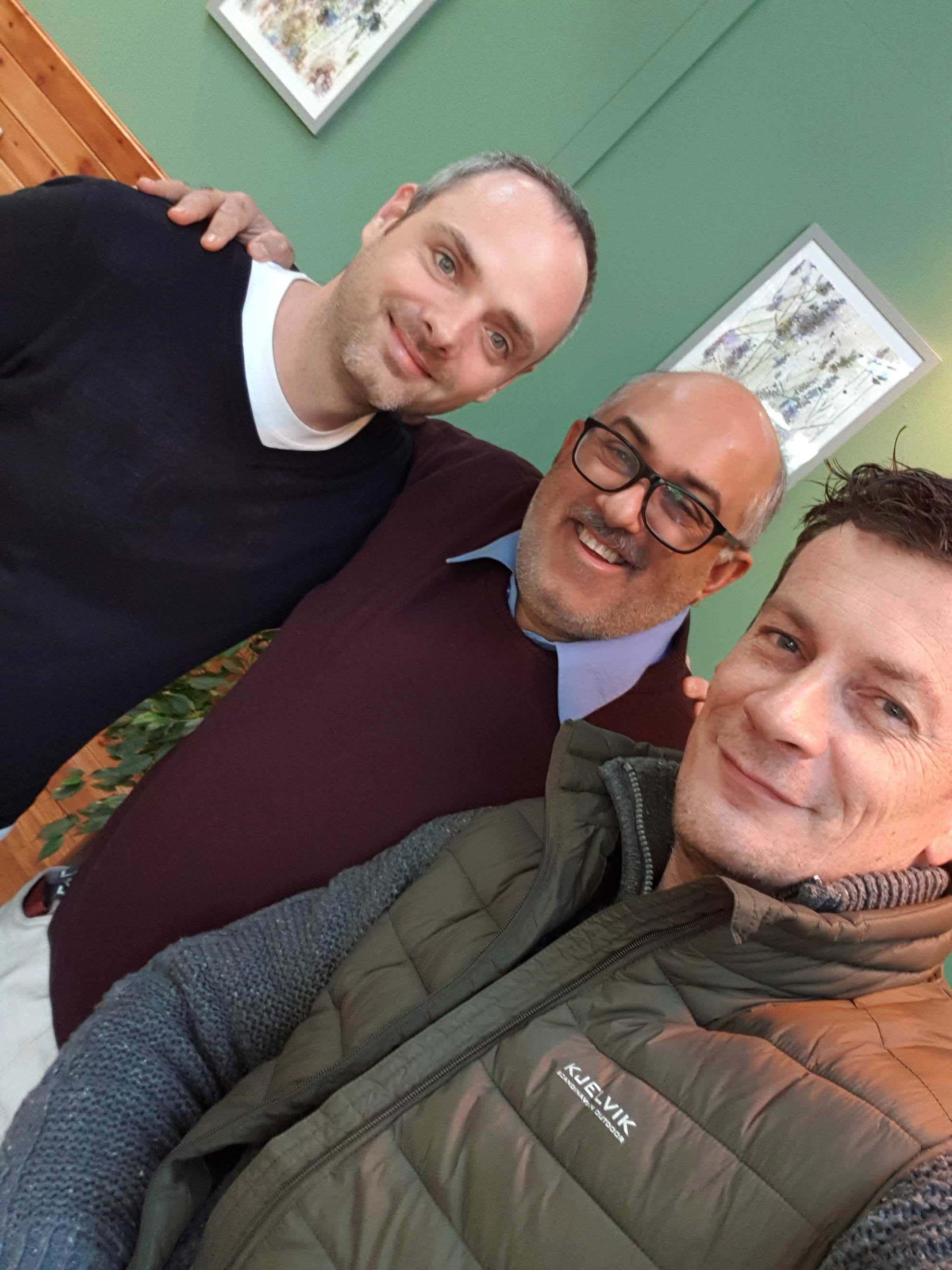 Dave, Hanif & Martin